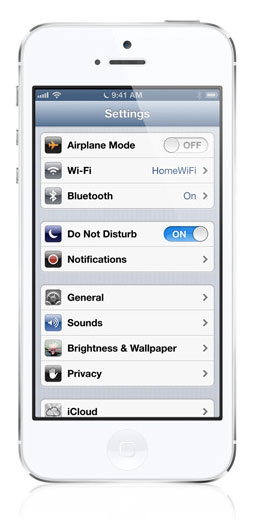 iPhone Do Not Disturb Mode